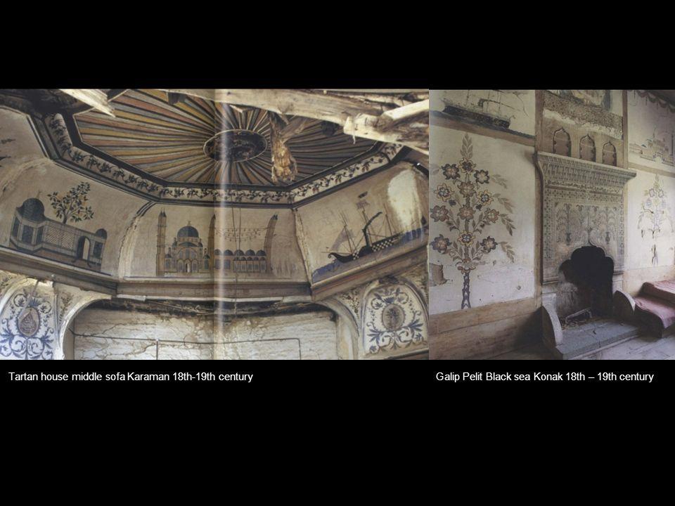 Galip Pelit Black sea Konak 18th – 19th centuryTartan house middle sofa Karaman 18th-19th century