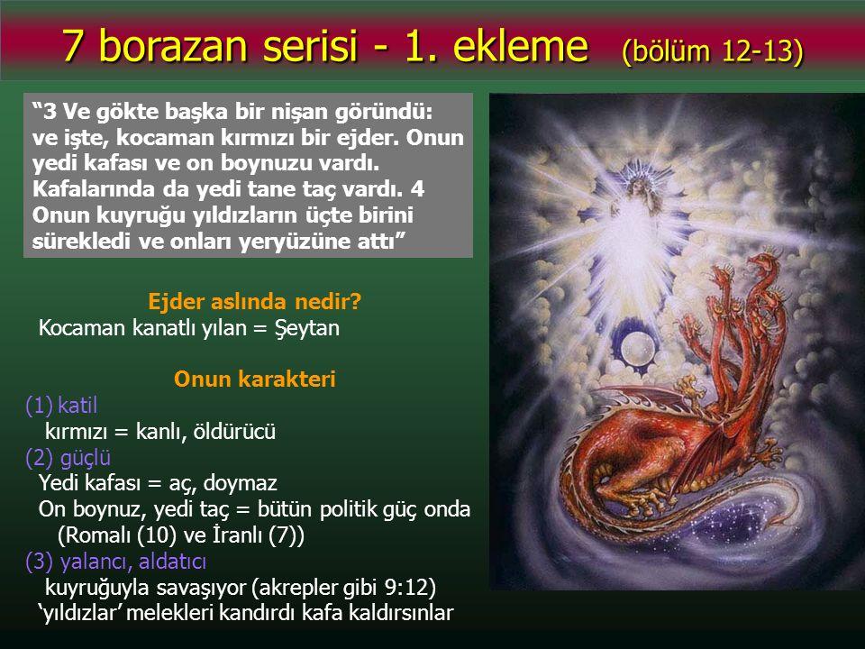 7 borazan serisi - 1.ekleme (bölüm 12-13) Ejder de doğurmak üzere olan kadının önünde durdu.