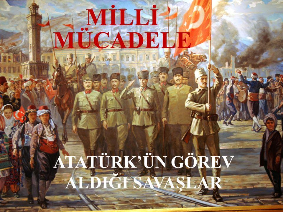 Trablusgarp Savaşı'nda Mustafa KEMAL İtalya Osmanlı Devleti'nin Kuzey Afrika'daki topraklarını ele geçirmek istiyordu.