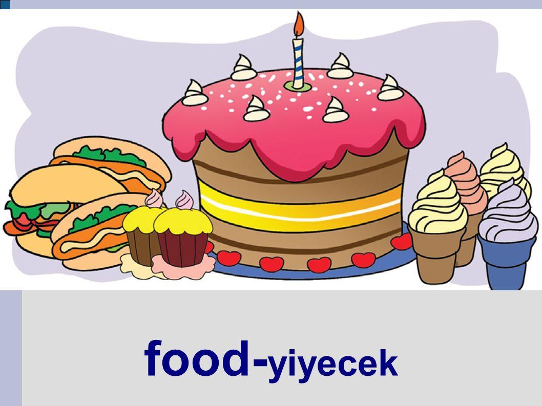 food- yiyecek