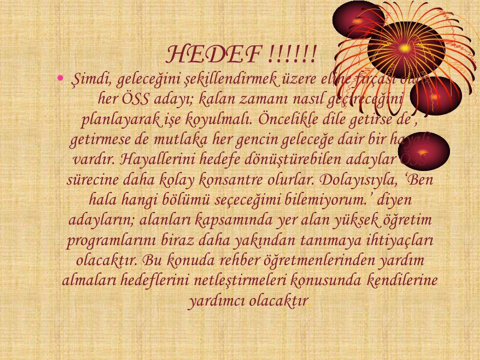HEDEF !!!!!.