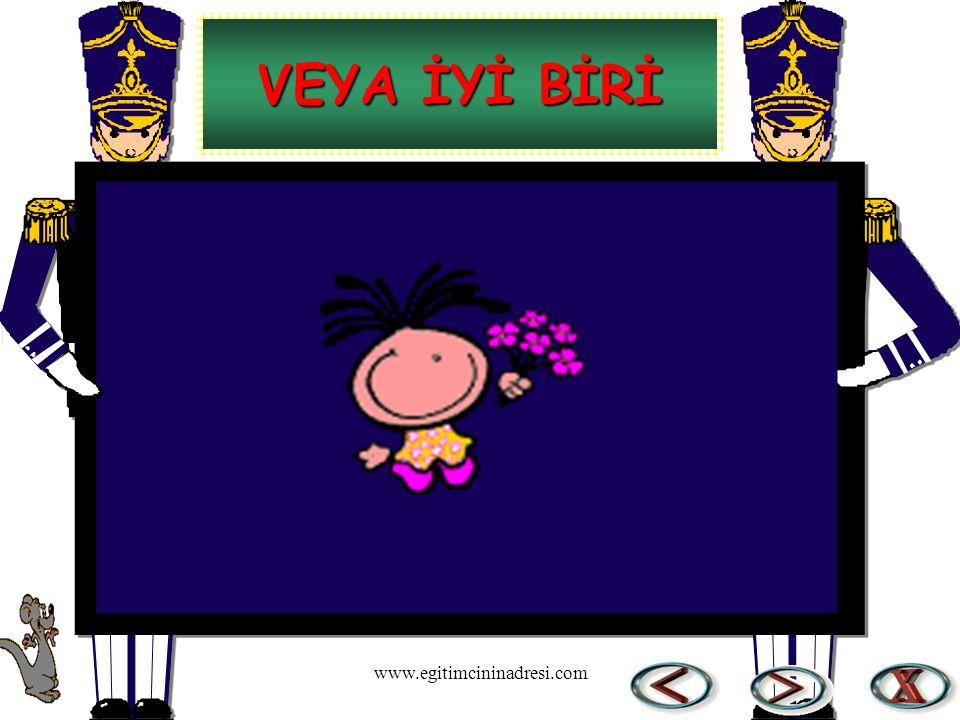 VEYA İYİ BİRİ www.egitimcininadresi.com