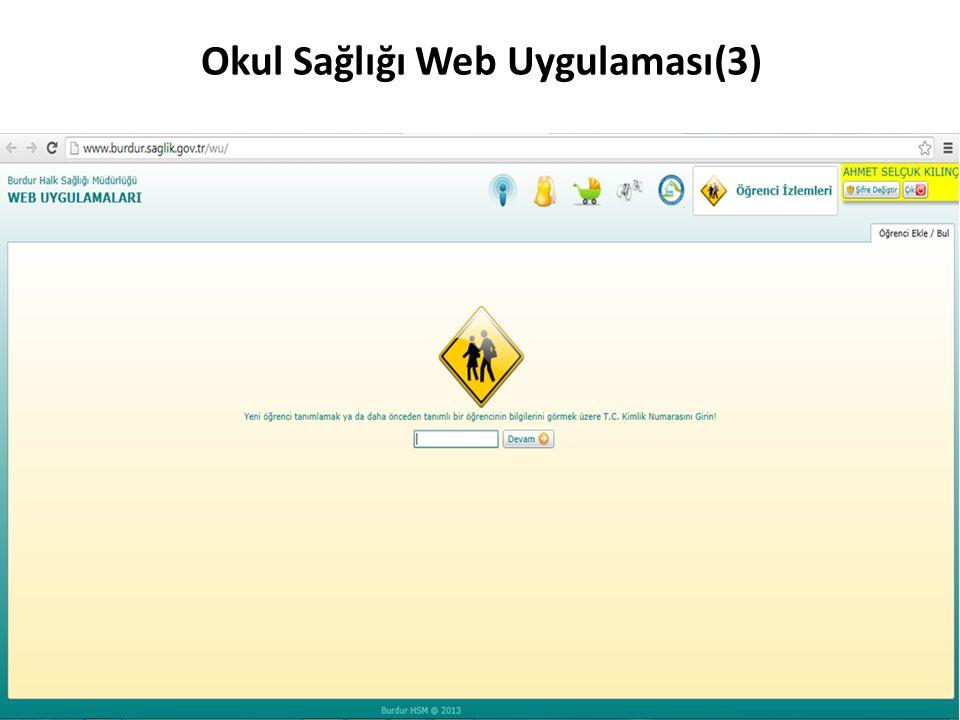 Okul Sağlığı Web Uygulaması(3)