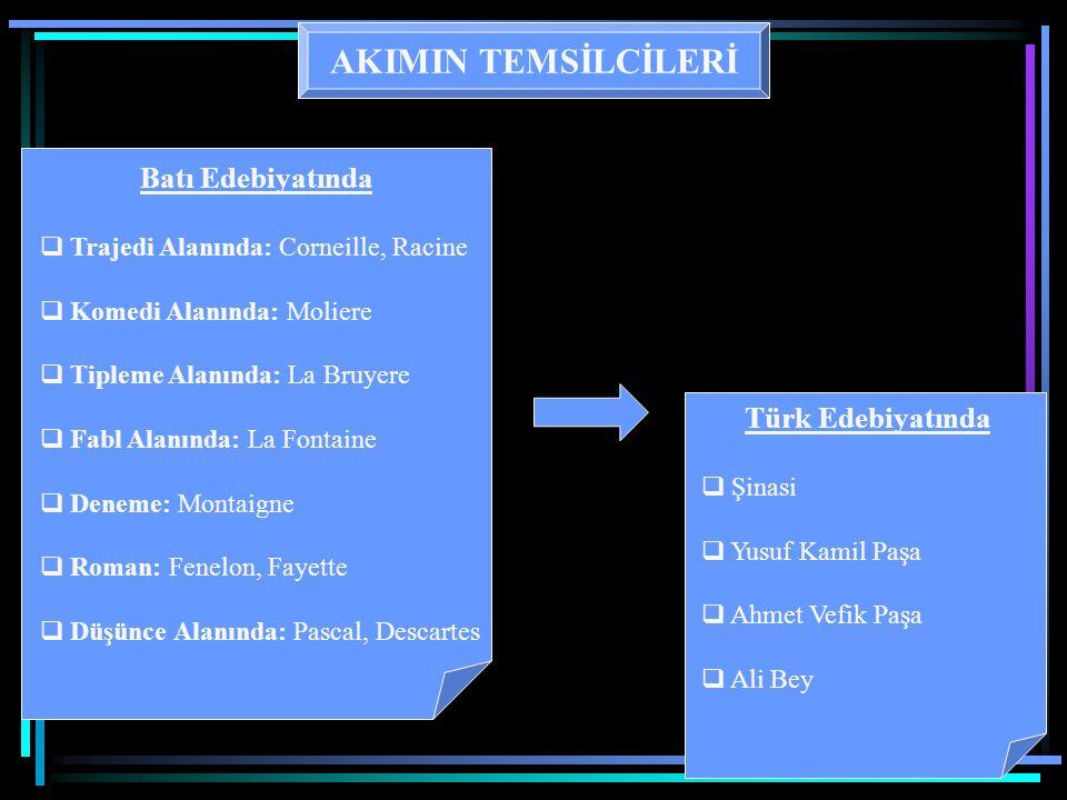 AKIMIN TEMSİLCİLERİ Batı Edebiyatında Rimbaud Verlaine Rilke Hopkins Türk Edebiyatında Ahmet Haşim A.