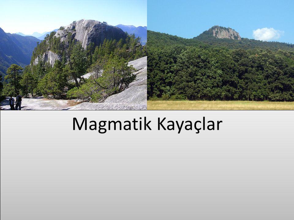 İç püskürük kayaçlar magmanın yer kabuğunun derinliklerinde soğumasıyla oluşmaktadır.