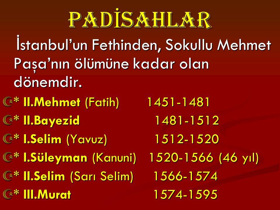 FATIH'in ISTANBUL' a GIRISI
