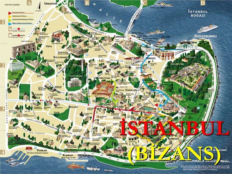 B İ ZANS'IN HAZIRLIKLARI Surlar ve kaleler tamir edildi.