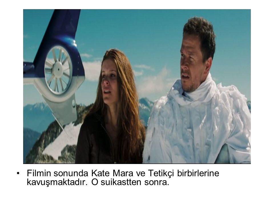 Filmin sonunda Kate Mara ve Tetikçi birbirlerine kavuşmaktadır. O suikastten sonra.