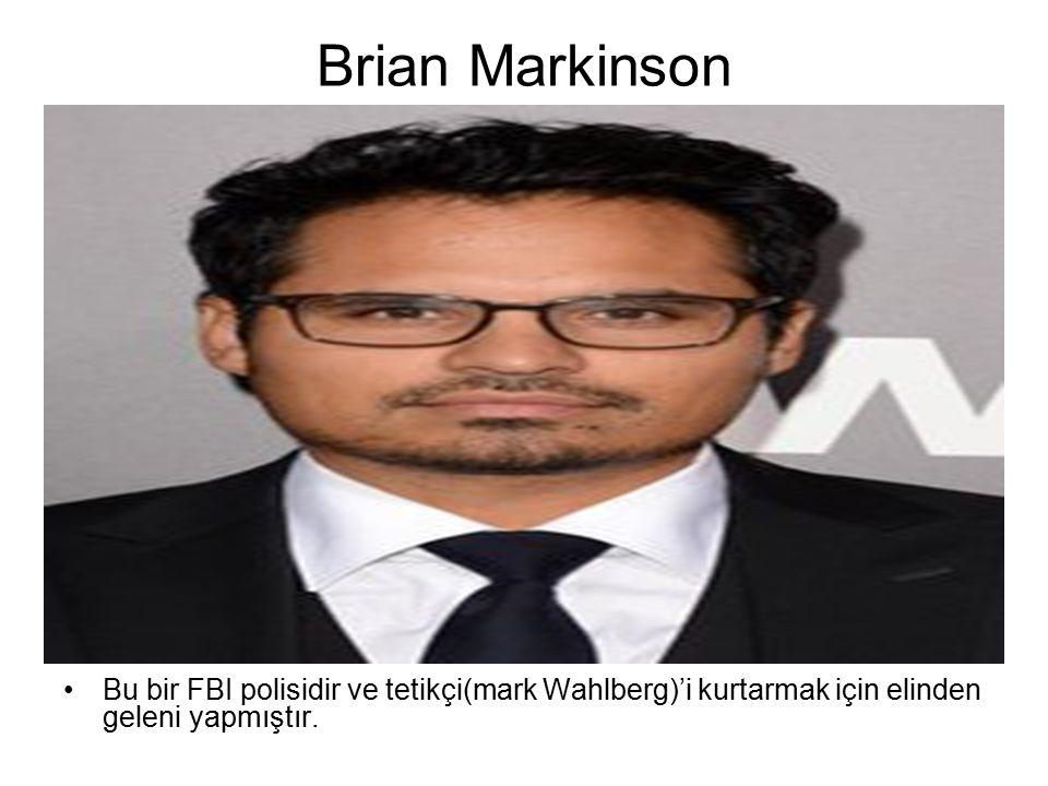 Bu bir FBI polisidir ve tetikçi(mark Wahlberg)'i kurtarmak için elinden geleni yapmıştır.