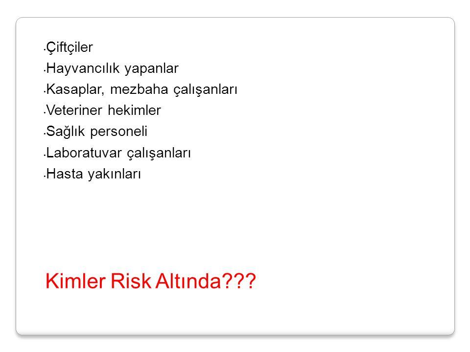 Kimler Risk Altında??.