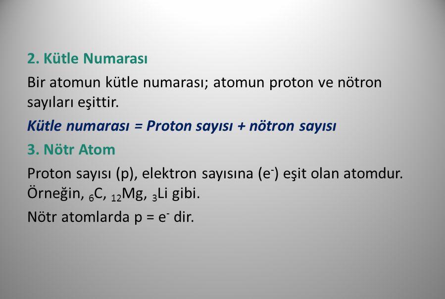 4.İyon Elektron almış ya da vermiş taneciklerdir.
