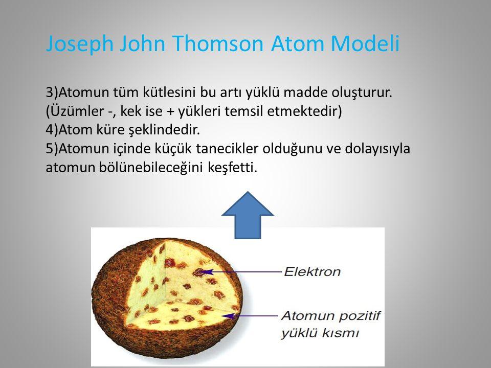 Ernest Rutherford (1871 - 1937) Ernest Rutherford Atom Modeli Rutherford atom modeli Güneş Sistemi ne benzetilmektedir.