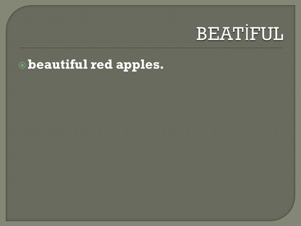  beautiful red apples.