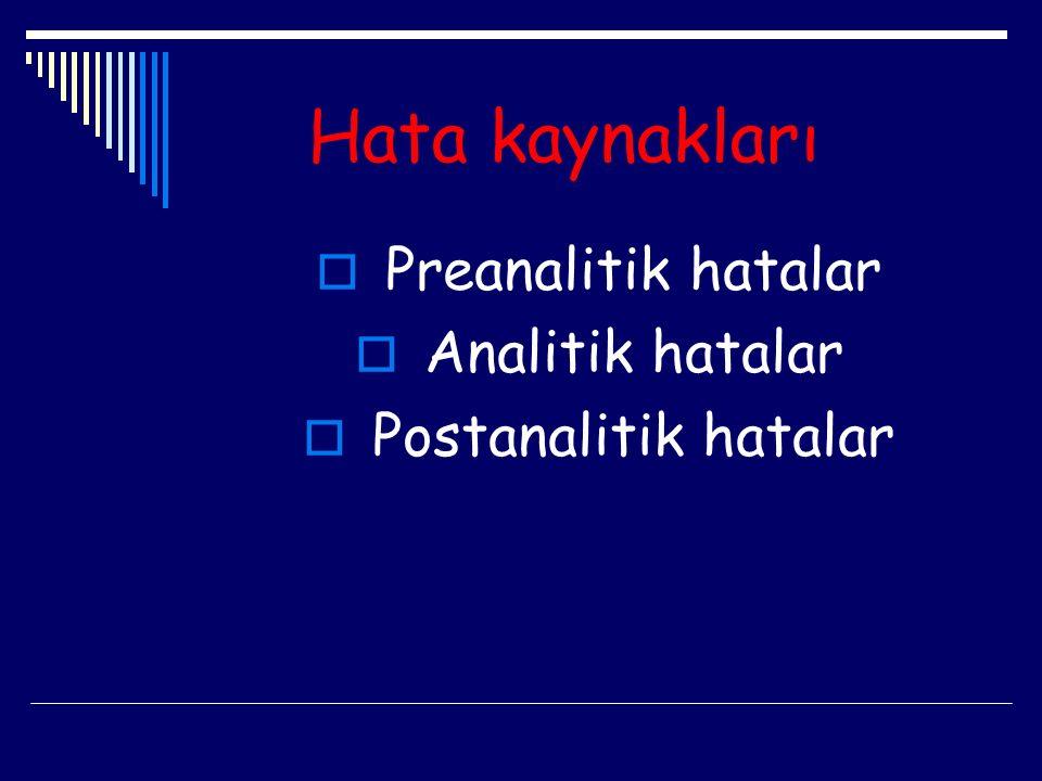 Kan alma zamanı  Kan alma zamanı olarak tercih sabah 08.00- 10.00 olmalıdır.