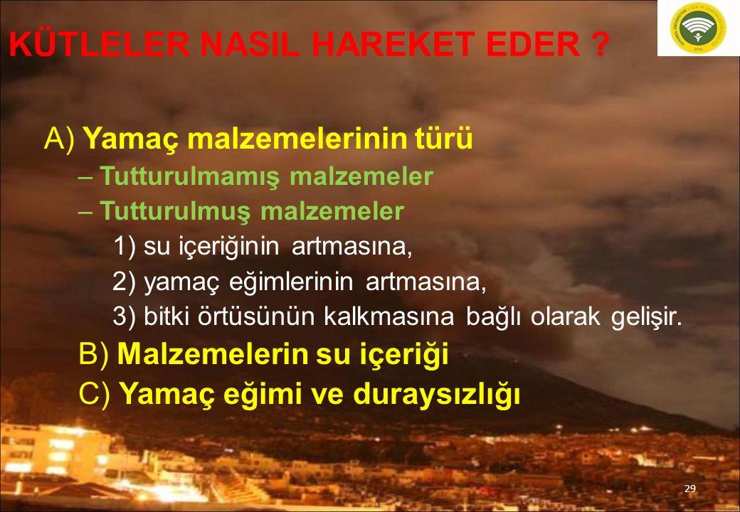 29 KÜTLELER NASIL HAREKET EDER .