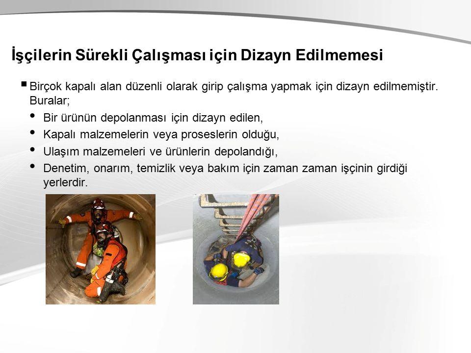 İzolasyon Örnekler;  Elektrik kaynaklarını kilitleme ve etiketleme.