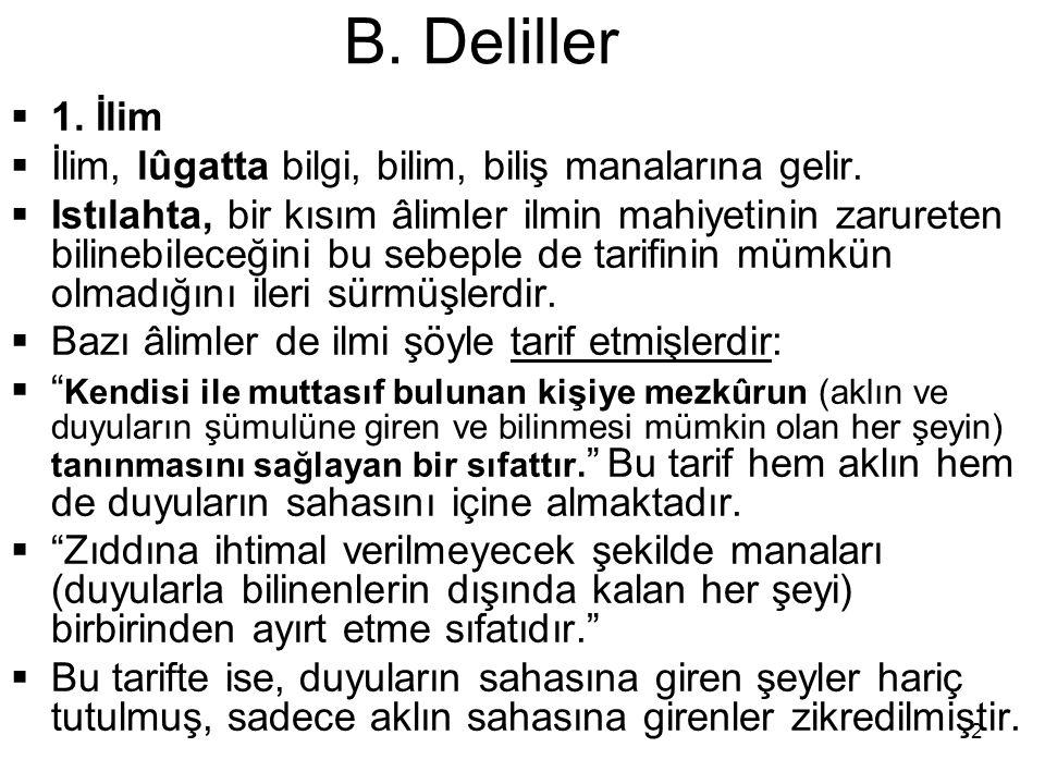 13 B.Deliller  B.
