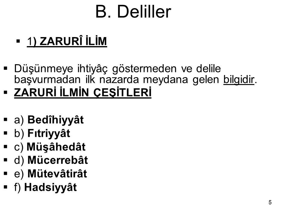 16 B.Deliller  C.