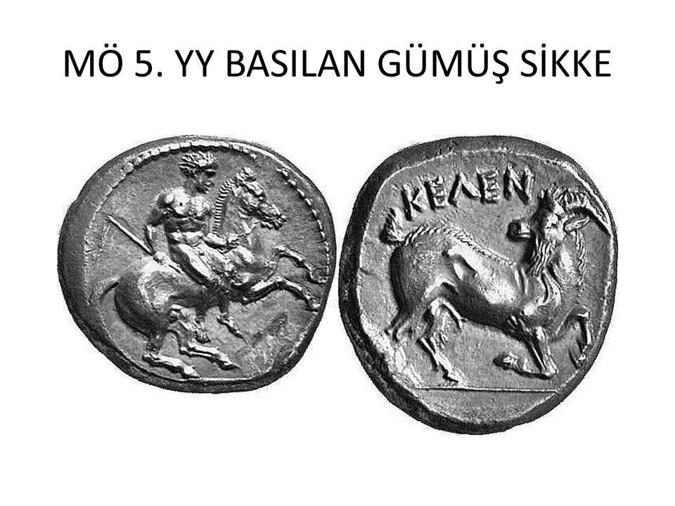 MÖ 5. YY BASILAN GÜMÜŞ SİKKE