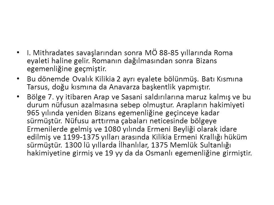 ELAUSE SEBASTİA- (AYAŞ) Mersin-Silifke karayolunun 55.