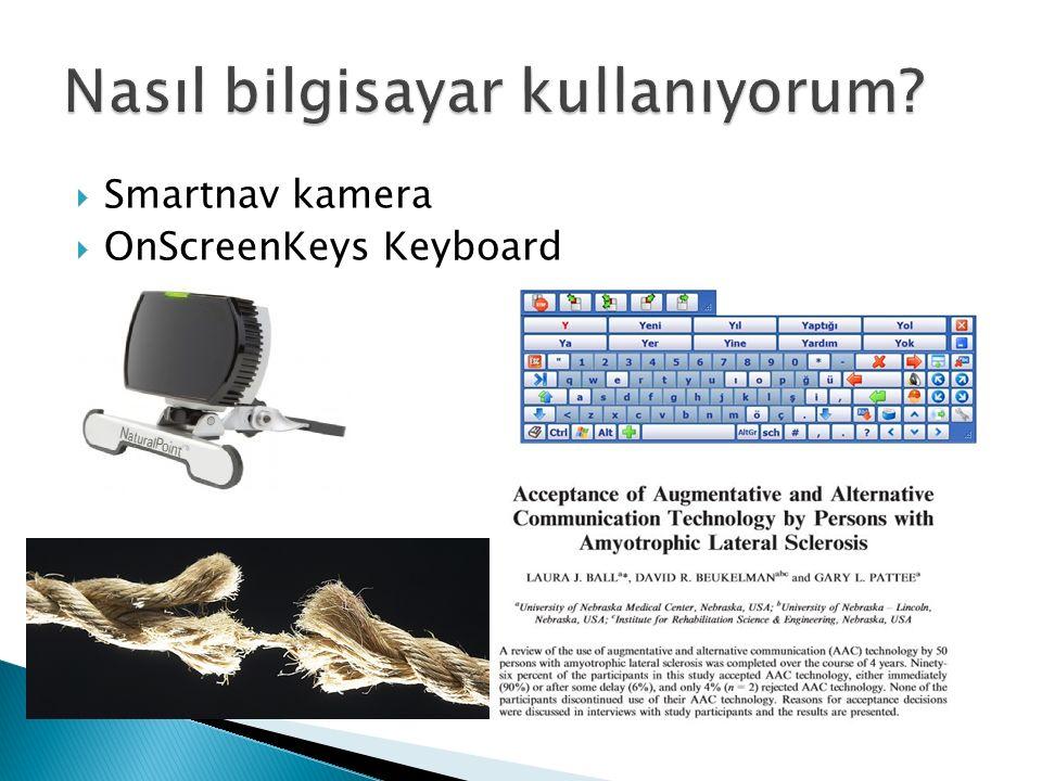  Smartnav kamera  OnScreenKeys Keyboard