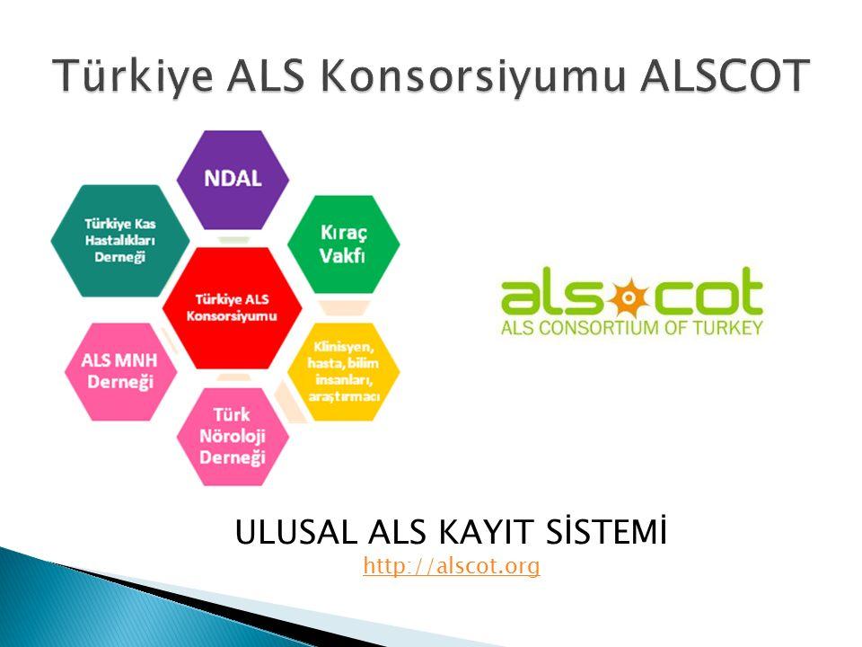 ULUSAL ALS KAYIT SİSTEMİ http://alscot.org