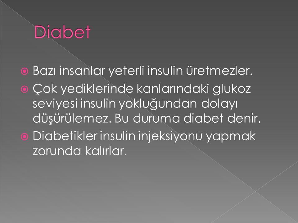 Eğer kanda yeterli glukoz yoksa, Glukagon hormonu glikojenin bir kısmının glukoza çevrilmesini uyarır. Glikojen Glu k agon Kandaki glukoz