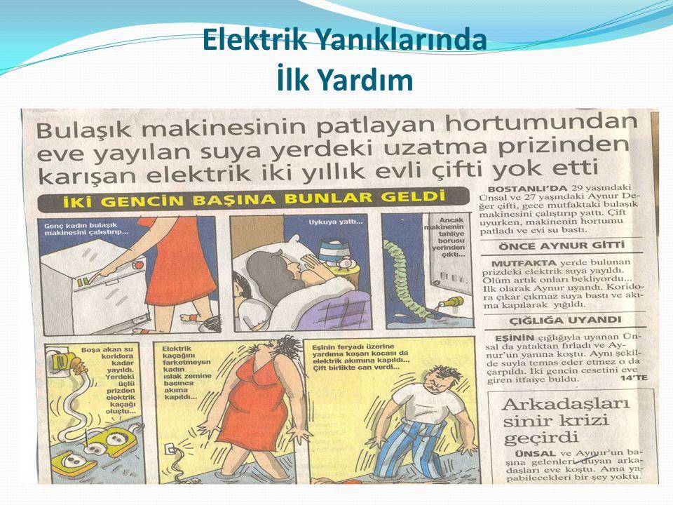 Elektrik Yanıklarında İlk Yardım