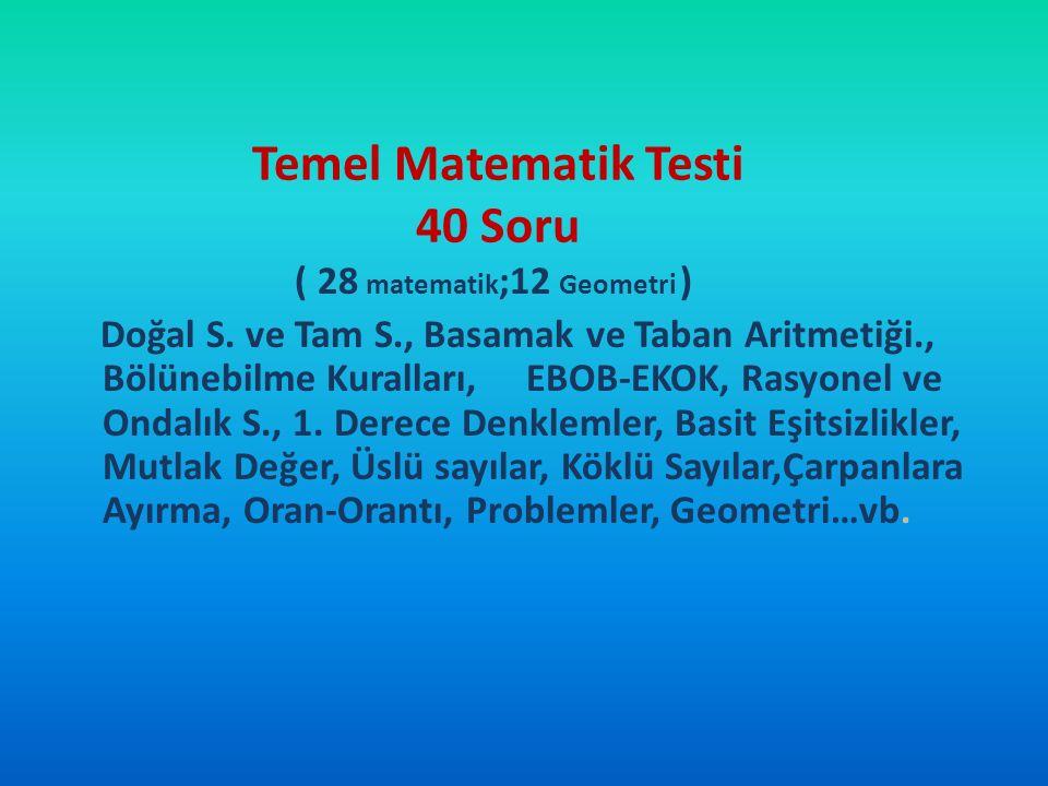 16 Haziran 2012 LYS-1 (Matematik) ve LYS-5 (Yabancı Dil) 17 Haziran 2012 LYS-4 (Sosyal Bilimler) 23 Haziran 2012 LYS-3 (Edebiyat-Coğrafya) 24 Haziran 2012 LYS -2 (Fen Bilimleri) Bu sınavların her birinde birden fazla farklı test kitapçığı kullanılacak olup; birinci test bittikten sonra ikinci-üçüncü teste geçilecektir.