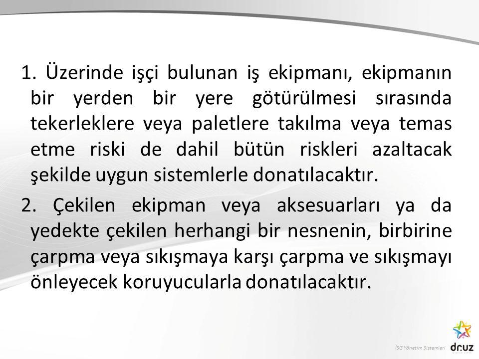 İSG Yönetim Sistemleri 1.
