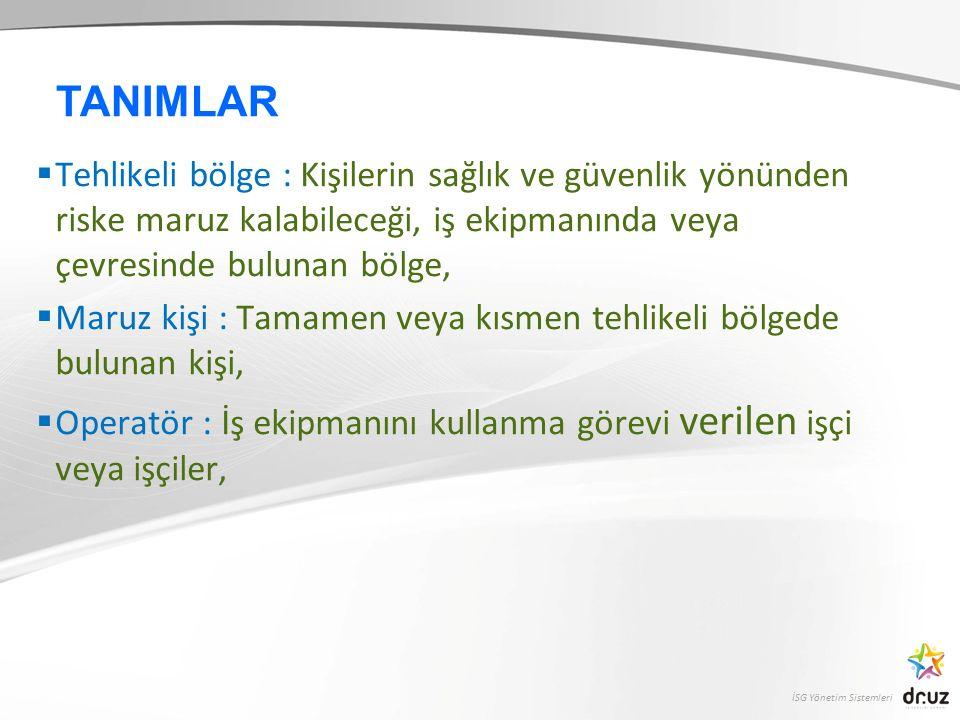 İSG Yönetim Sistemleri 3.