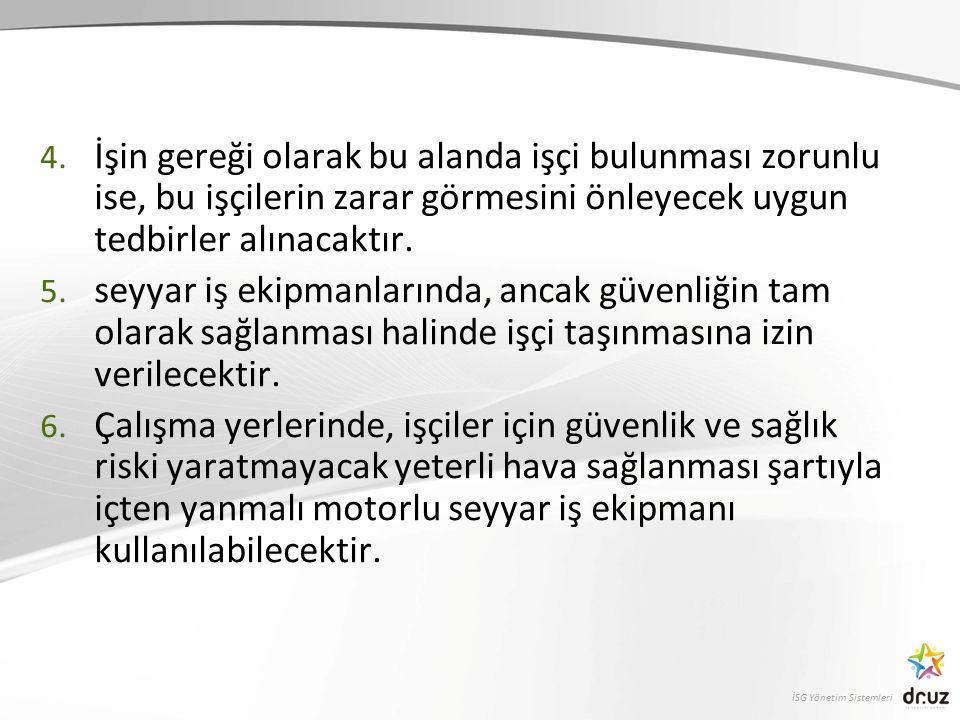 İSG Yönetim Sistemleri 4.