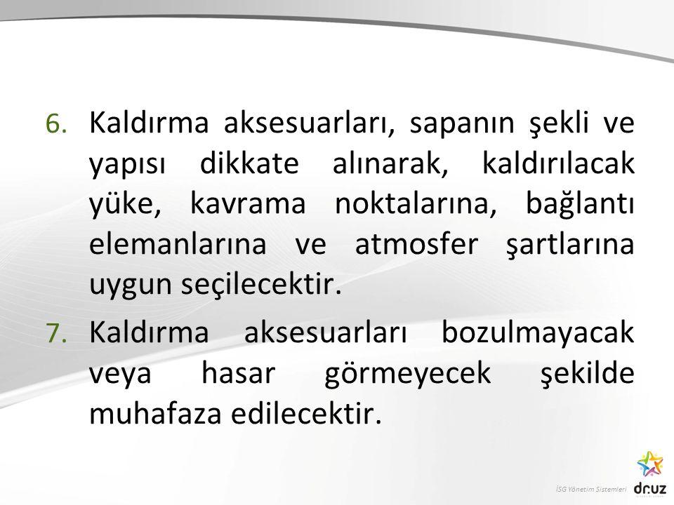 İSG Yönetim Sistemleri 6.