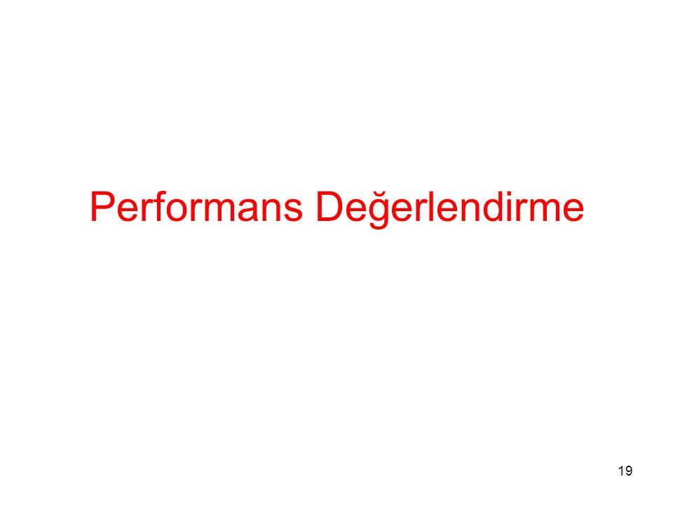 Performans Değerlendirme 19