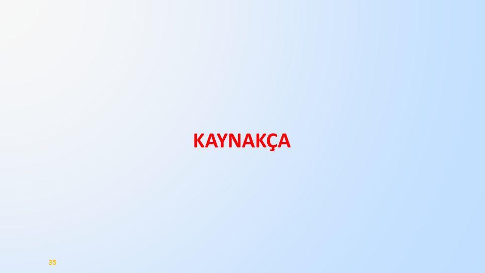KAYNAKÇA 35