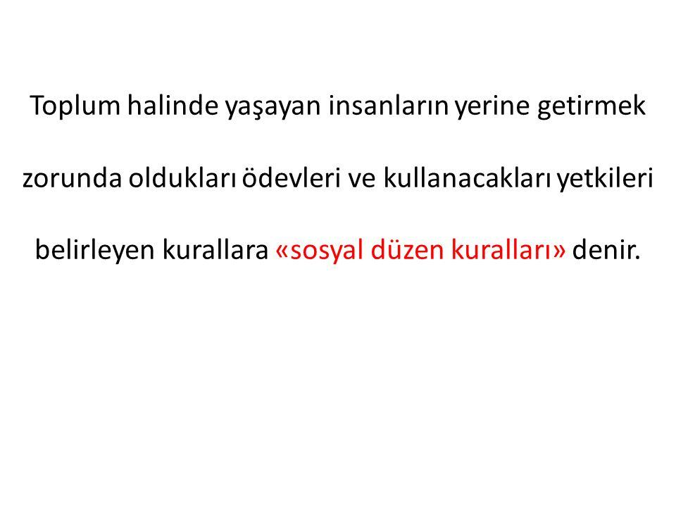 Yukarıda da belirtildigi gibi, esas kaynaklar – yardımcı kaynaklar ayrımı medenî hukuk kökenlidir ve Türk Medenî Kanunun 1'inci maddesinde ifadesini bulur.