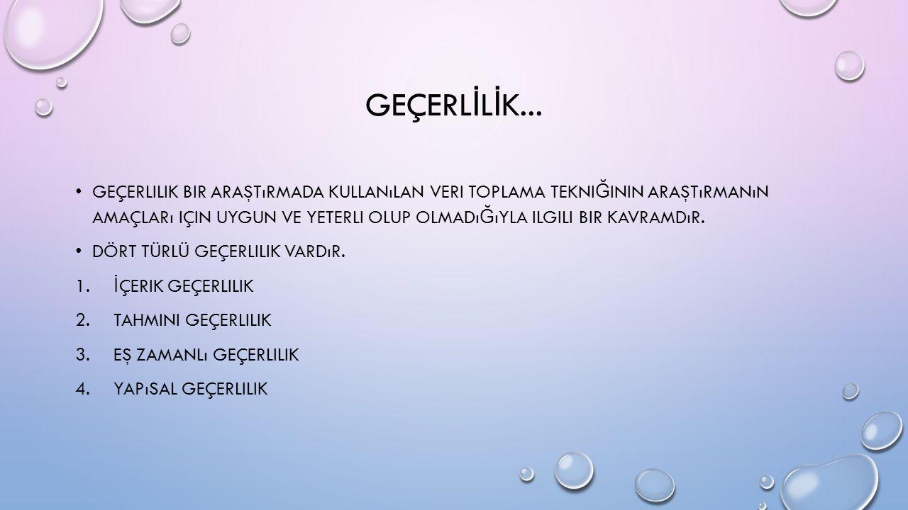 GEÇERL İ L İ K...