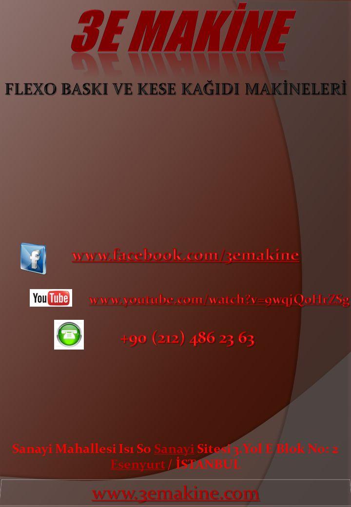 Sanayi Mahallesi Isı So Sanayi Sitesi 3.Yol E Blok No: 2 Esenyurt / İSTANBUL