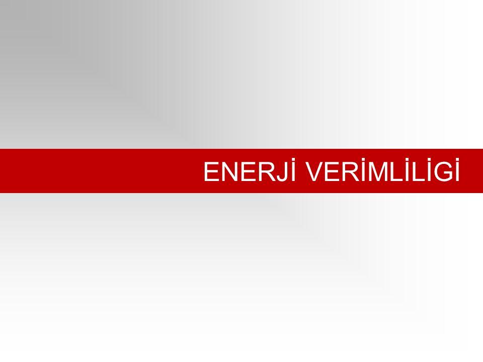 ENERJİ VERİMLİLİGİ.