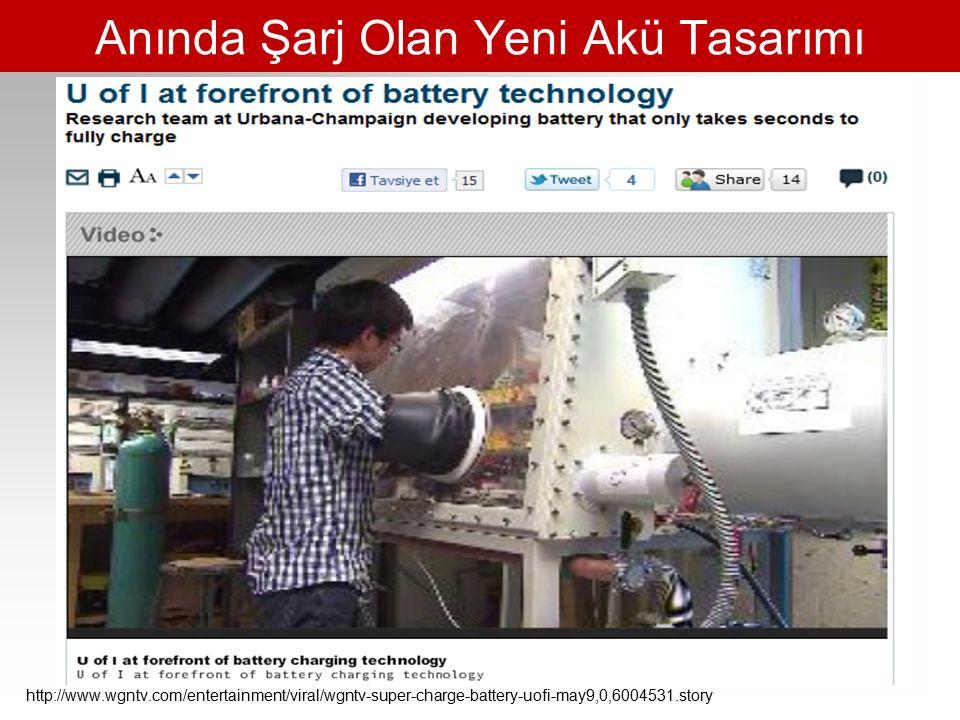 Anında Şarj Olan Yeni Akü Tasarımı http://www.wgntv.com/entertainment/viral/wgntv-super-charge-battery-uofi-may9,0,6004531.story