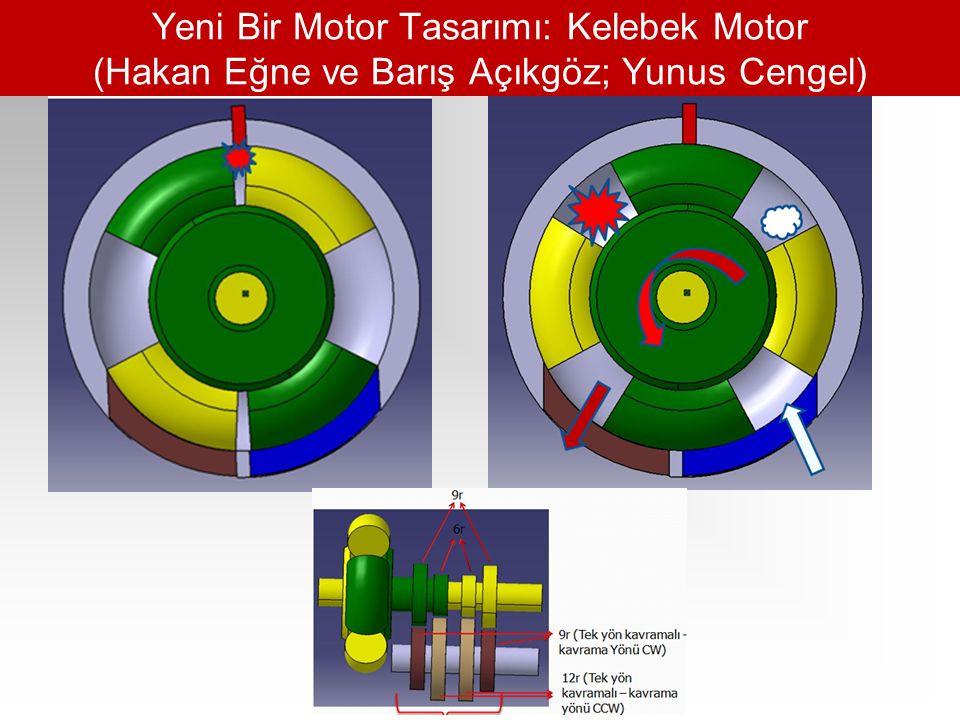Yeni Bir Motor Tasarımı: Kelebek Motor (Hakan Eğne ve Barış Açıkgöz; Yunus Cengel)