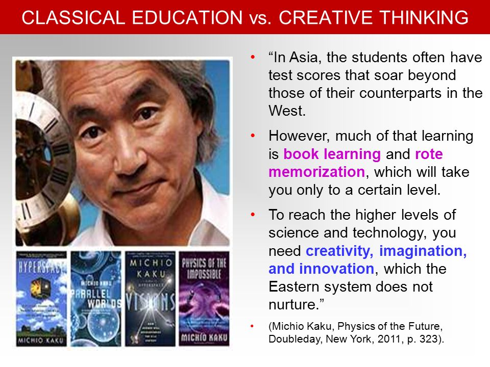 CLASSICAL EDUCATION vs.