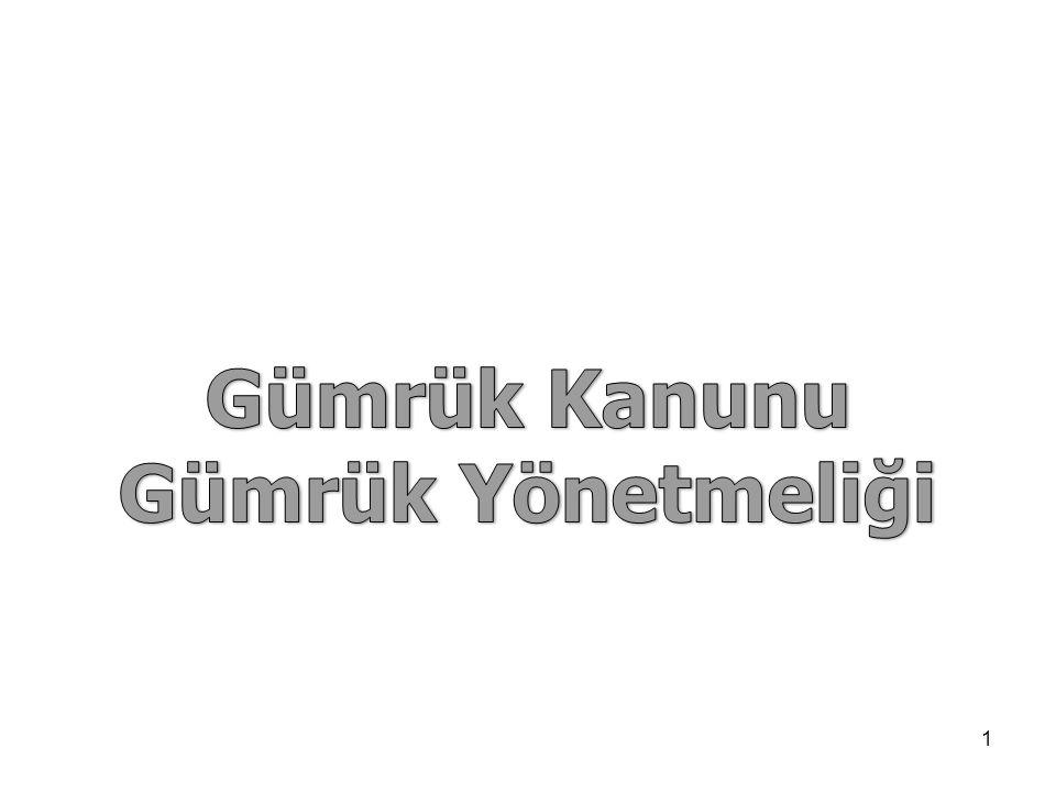 Gümrük Kanunu'nda Tercihli Tarife  4458 sayılı Gümrük Kanunun 22 inci maddesi;  Tercihli tarife uygulamalarından yararlandırılmak istenen eşyanın tercihli menşe kurallarını; bu konuda karşılıklı olarak imzalanan anlaşmalar ile,  Türkiye tarafından tek taraflı olarak bazı ülkelere tanınan tercihli tarifeler için Bakanlar Kurulu Kararı ile  Tespit edileceğini belirtmektedir.