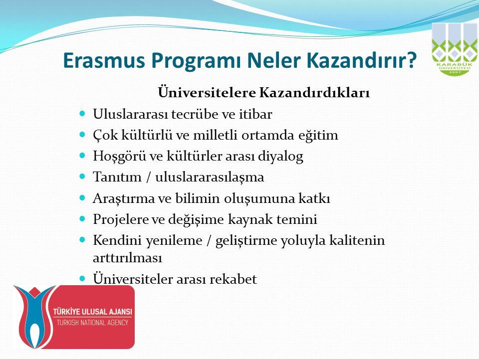 Erasmus Programı Neler Kazandırır.