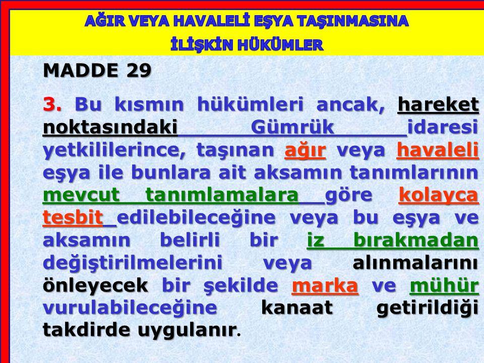 MADDE 29 1.