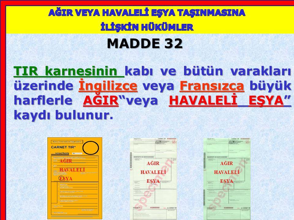 MADDE 29 3.