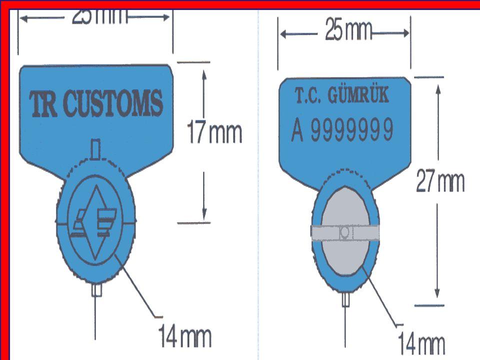 MADDE 34 Her Akit Tarafın yol boyu Gümrük idaresindeki yetkili makamları, diğer Akit tarafların yetkili makamları tarafından takılan gümrük mühürlerini ve/veya tanıtıcı işaretleri kabul ederler.