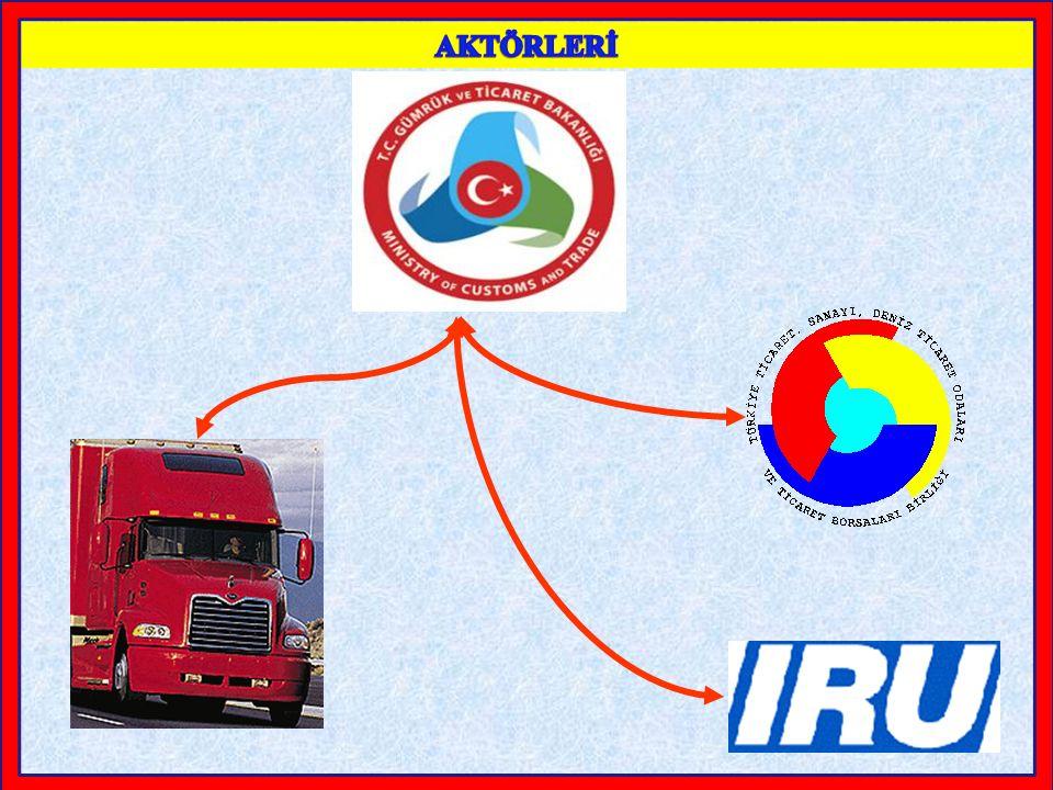 RO-RO Olarak Belirtilmiş Gümrük İdareleri
