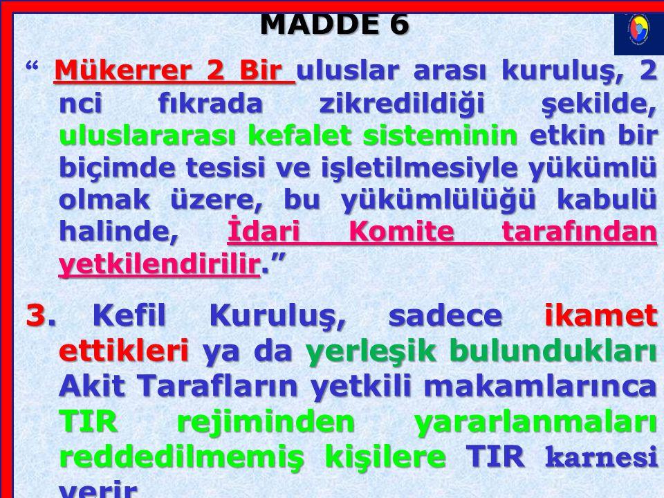 MADDE 6 1.