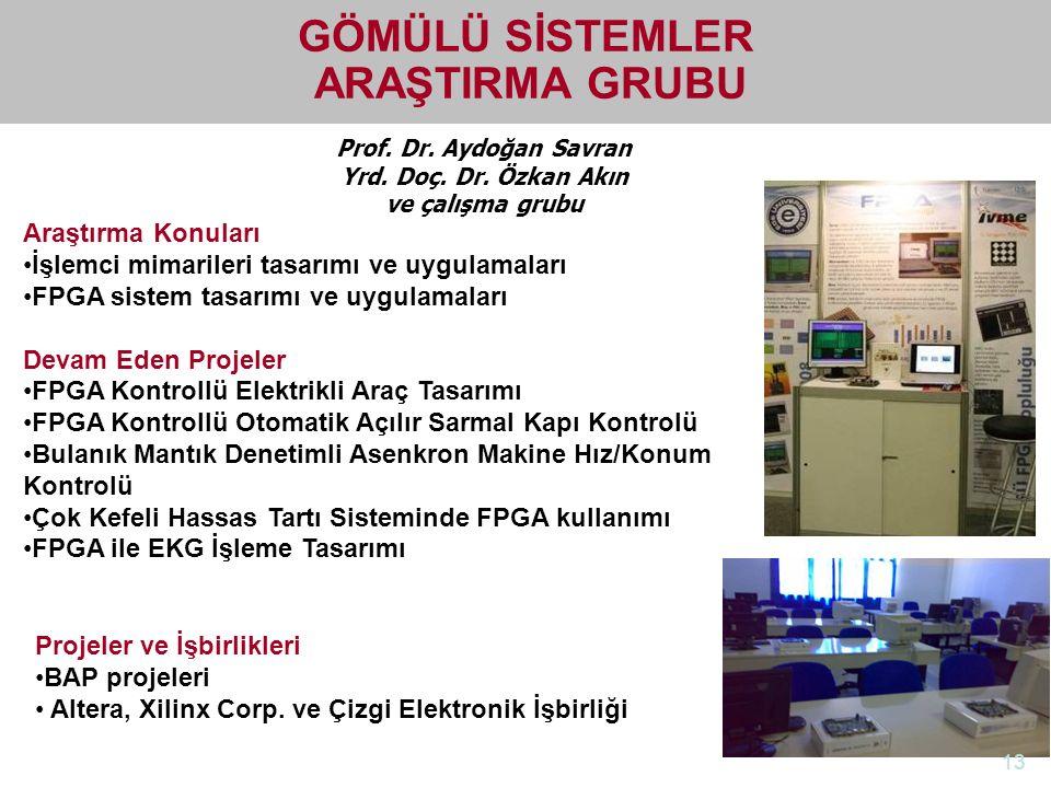 http://electronics.ege.edu.tr Elektrik-Elektronik Mühendisliği Bölümü Prof. Dr. Aydoğan Savran Yrd. Doç. Dr. Özkan Akın ve çalışma grubu GÖMÜLÜ SİSTEM
